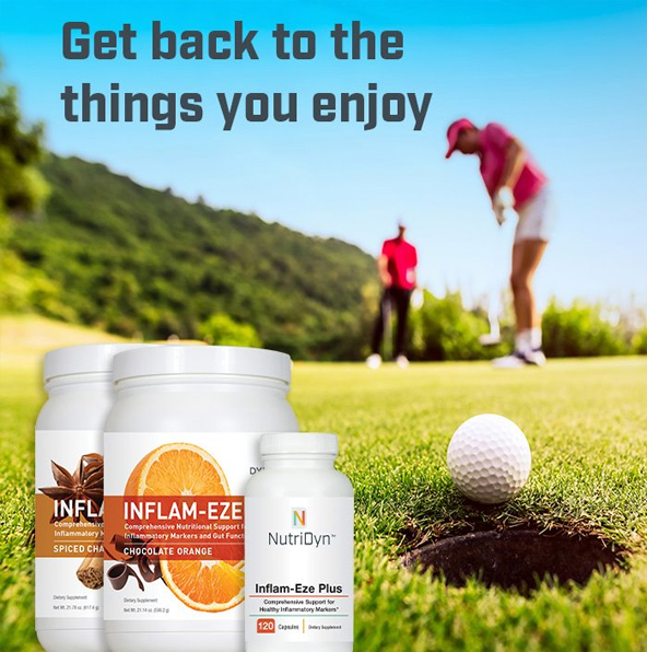Do More With Nutridyn Nutritional Supplements