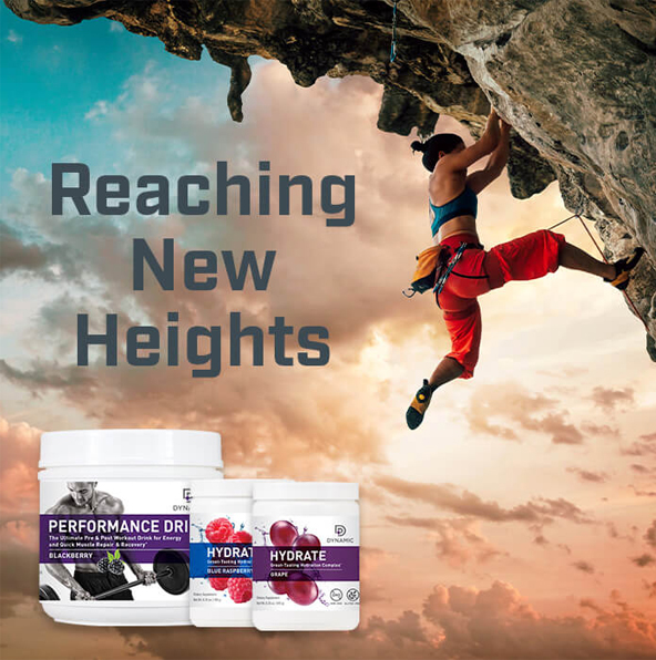 Reach New Heights With Nutridyn Nutritional Supplements